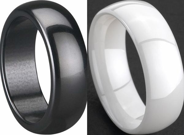 ceramicring, Jewelry, whitering, Wedding Band