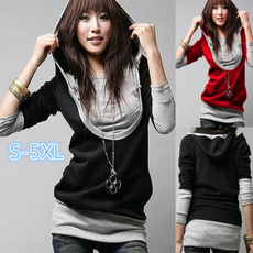Collar, Fashion, cottonblended, Sleeve