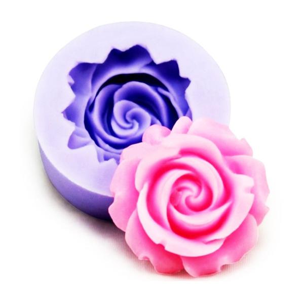 flowershape, fondantmold, roseflowermold, chocolatemold