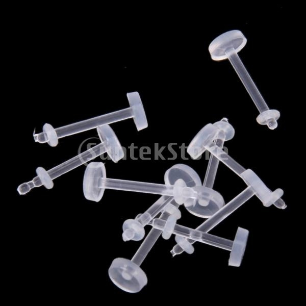 clearacryllipring, 30piecesoflabret, Clear, Fashion Jewelry