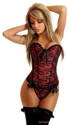 corset top, women's pajamas, Underwear, Lace