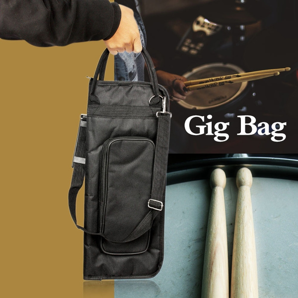 padded, useful, extensionbrush, drumsticksbag