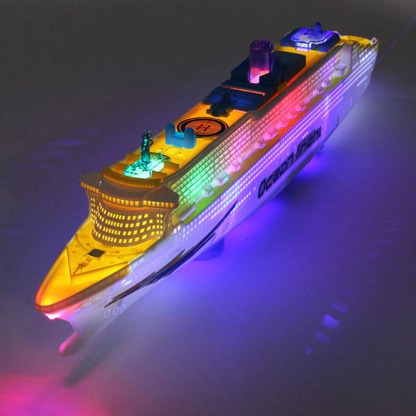 Toy, led, Electric, boatshipmodel