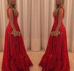 sleeveless, Fashion, vestidos femininos, Lace