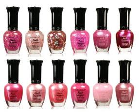 pink, Nails, kleancolornailpolish, Beauty