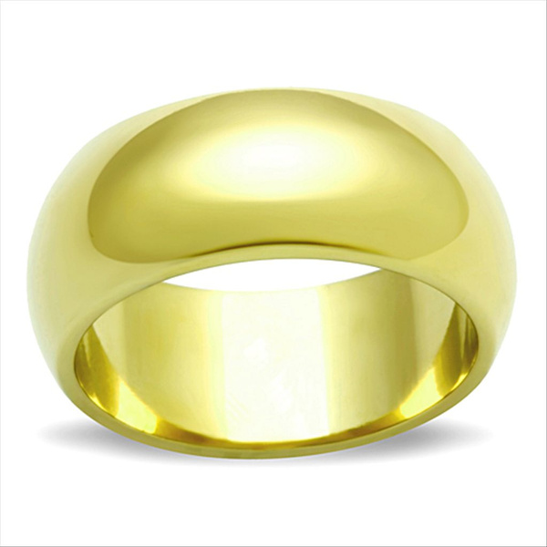 Cubic Zirconia, goldplated, 14kgoldionplated, Stainless