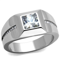 stainlesssteelfashionring, Steel, Jewelry, Stainless