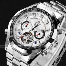 Steel, Fashion, Dress Watches, Tops