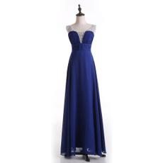 Blues, gowns, Plus Size, Bridesmaid