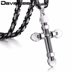 Steel, Box, Stainless Steel, crossnecklaceman