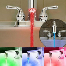 bathroomfaucet, water, Grifos, led