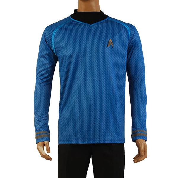 New Star Trek Into Darkness Captain Kirk Spock Grau Cosplay Kostüm Uniform