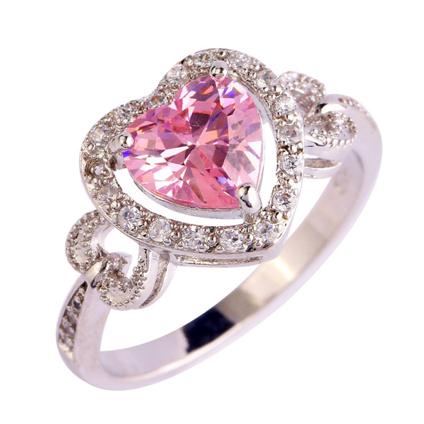 pink, Heart, Gifts, silver
