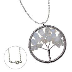 Brass, Jewelry, Chain, Tree