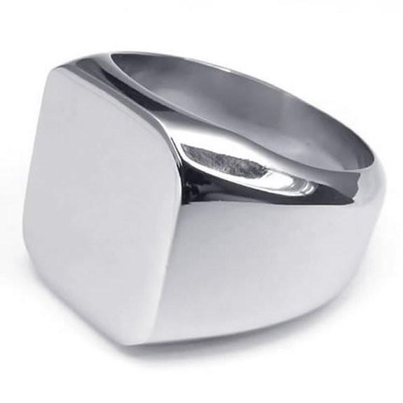 wholesalestainlesssteelring, polished, mensstainlesssteelring, Stainless Steel