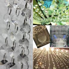 clearglasschandelierchain, Chain, Glass, Interior Design