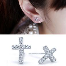 Fashion, Jewelry, Stud Earring, Rhinestone