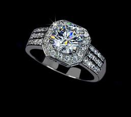 White Gold, diamondring2carat, wedding ring, gold
