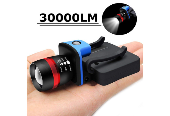 8000 LM  Q5 LED Ultra Bright Zoomable Flashlight Headlamp Headlight AAA DS