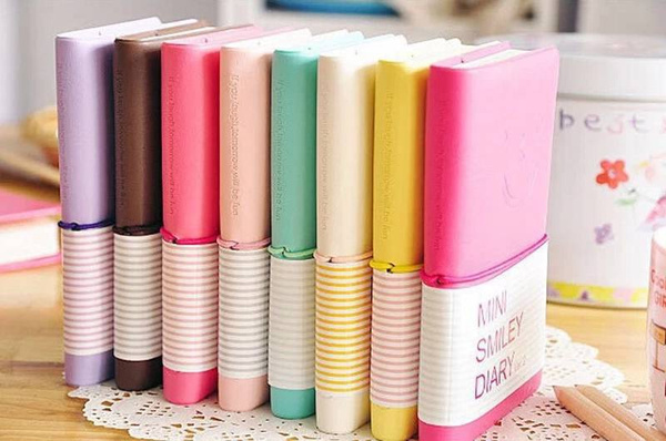 Mini, minismileynotebook, notebookswritingpad, cutesmileynotebook