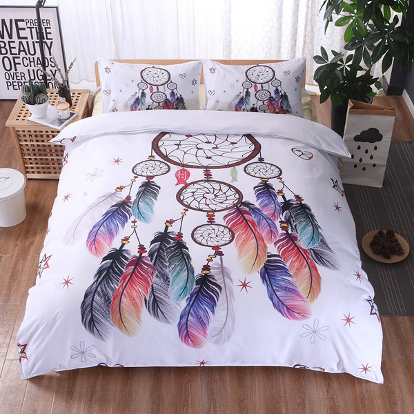 King, Home & Living, Cover, featherdreamcatcher
