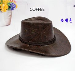 Outdoor, Cowboy, leather, Cap