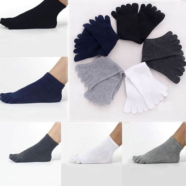 5fingersock, Cotton Socks, unisextoesock, unisex