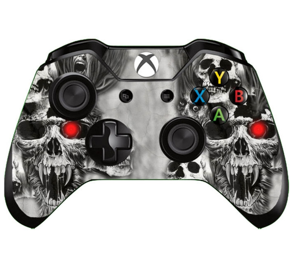 Video Games, skull, vinyl sticker, vinylskin