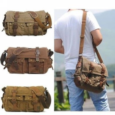 Satchel, leather, School, womenladymenboyunisexcanvasbag