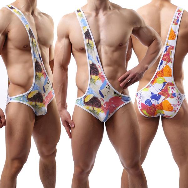 onepieceleotardjumpsuit, Underwear, Fashion, sexyonepieceswimsuitformen