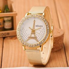 Steel, Jewelry, gold, diamondwatch