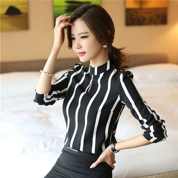officetop, hollowouttshirt, o-neck, women crop top