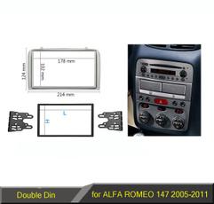 alfaromeodoubledinfascia, alfaromeo147radiopanel, alfaromeofascia, DVD