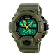 Watches, Outdoor, Waterproof Watch, electricwatch