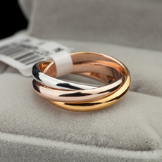 goldplated, ringsformen, wedding ring, gold