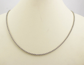 necklacesmall, Steel, Chain Necklace, Jewelry