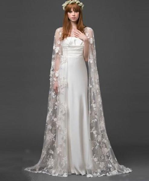 Ivory, Fashion, Lace, Coat