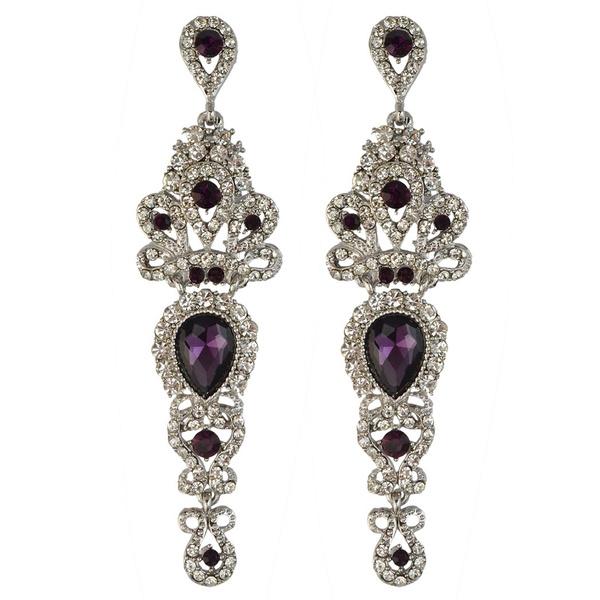 charmearring, pendantearring, dangleearing, purple
