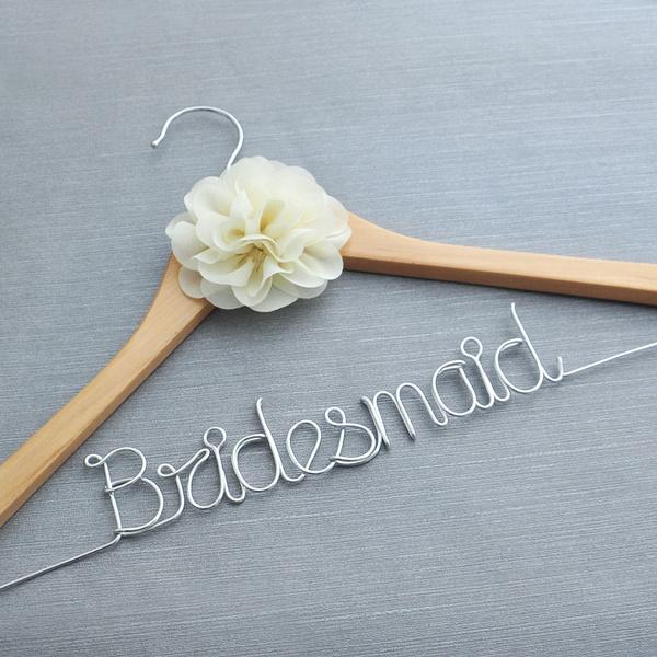bridesmaidhanger, Gifts, Dress, woodenhanger
