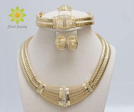 Jewelry Set, Jewelry, gold, Earring