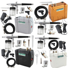 airbrushcompressorairbrushkit, Makeup, art, airbrushkitfortemporarytattoocarpainting