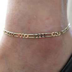 charmanklet, Anklets, Gifts, gold