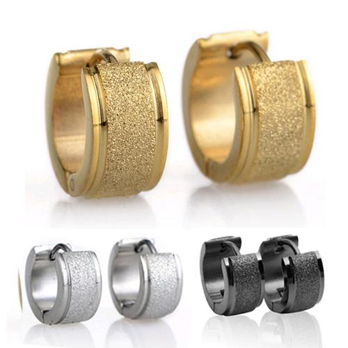 Mens Earrings, Steel, Hoop Earring, Jewelry
