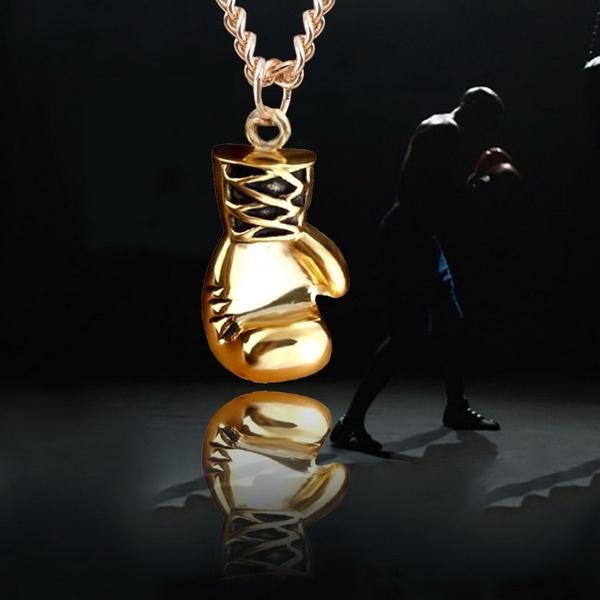 boxingglovependant, Steel, Fashion, Jewelry