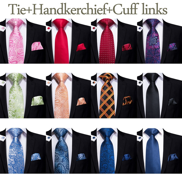 Cravat, Necktie, purplepaisleytie, Cuff Links