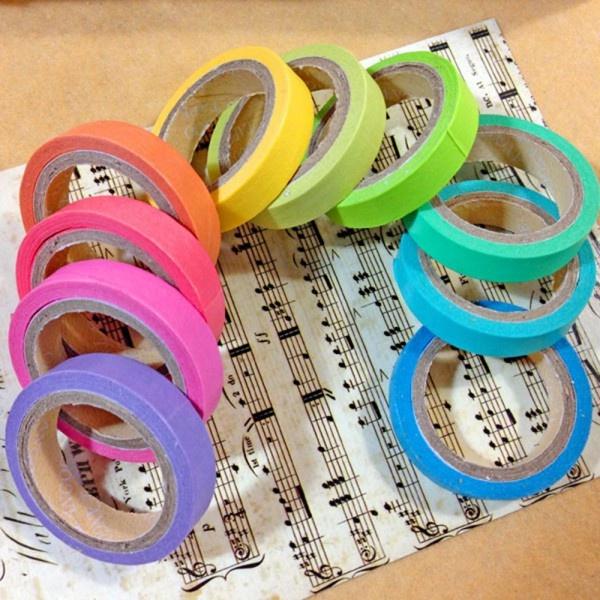 Adhesives, rainbow, decorativeaccessorie, papertape