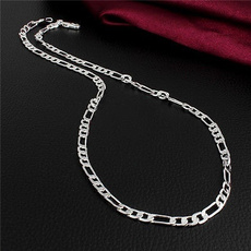 figaronecklace, Silver Jewelry, necklaces for men, 925 sterling silver