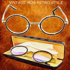 läsglasögon, roundreadingglasse, Vintage, Reading Glasses