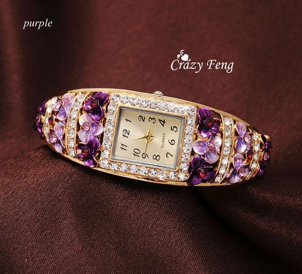 goldplated, Fashion, dress watch, Jewelry