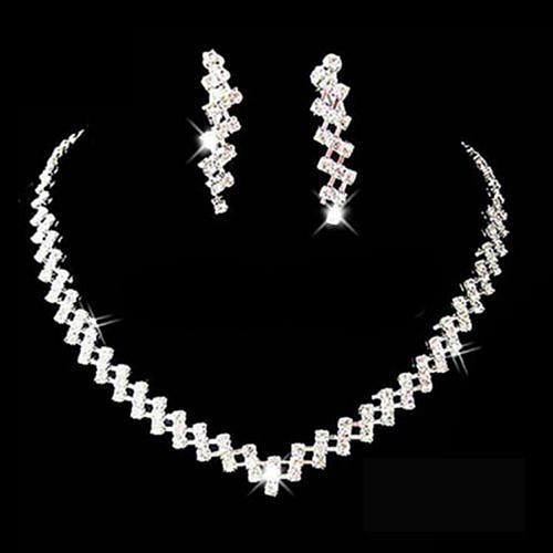 Jewelry, Bridal Jewelry Set, Crystal, Wedding